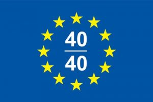 EUROPEAN 40_40 LOGO
